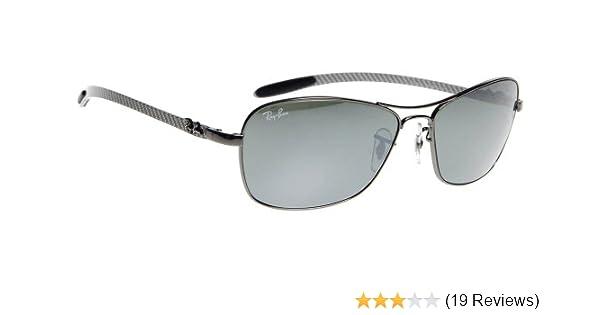 648f29bcca9 Amazon.com  Ray Ban RB8302 Tech Sunglasses-004 40 Gunmetal (Crystal Gray  Mirror Lens)-58mm  Shoes