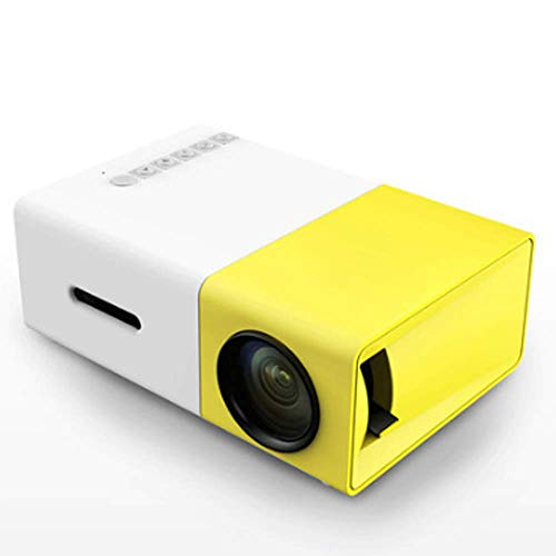 TTMFL Video Projectors,Home HD Portable LED Miniature Projector Mobile Phone Portable,Suitable for Bedrooms,Living Rooms,Gardens,Cafes