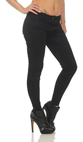 Jeans OSAB Slim Noir Femme Fashion af4qgS