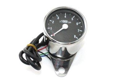 V-Twin 39-0392 Mini 60Mm Electronic Tachometer