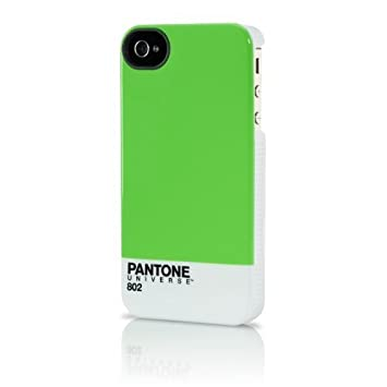 CASE SCENARIO Pantone - Carcasa para Apple iPhone 4/4S, verde