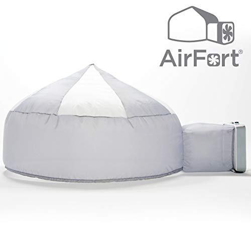 Air Fort Build an Inflatable Fun Kid's AirFort inflates in Seconds. The Easy Play Tent for Kids of All Ages! Mod About Gray