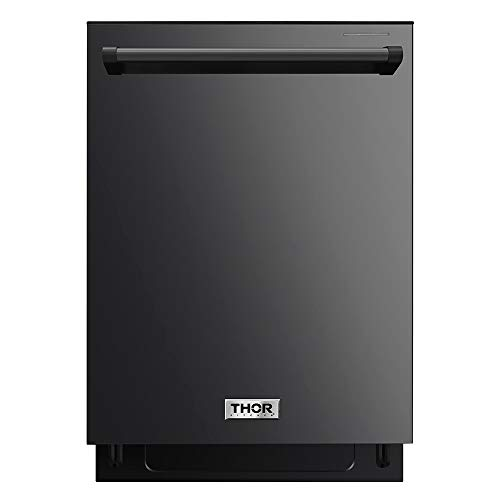 Thor Kitchen 24″ Built-In Pro-Style Dishwasher Black Stainless Steel – HDW2401BS