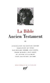 La Bible : Ancien Testament, tome II par Dhorme