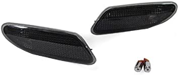 DEPO Smoke Bumper Side Marker Lights For 2001-2007 Mercedes Benz W203 C Class