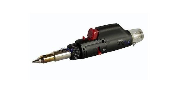 Mini soplete soldador a gas minisaldatore Estaño recargable portátil PT-330: Amazon.es: Bricolaje y herramientas