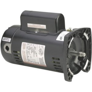 Square Flange Full Rate Motor - AO Smith/Century Electric Full Rate, Single Speed, 0.75HP, 3450RPM, 230/115V, 6.3/12.6 AMPS, 1.65SERVICE Factor, Square Flange