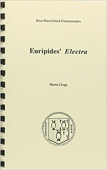 Book ELECTRA (Bryn Mawr Greek Commentaries)