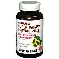 American Health Papaya Enzyme Plus Spr