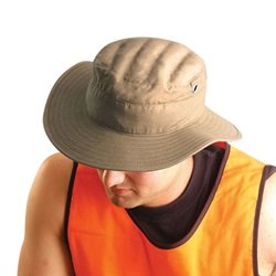2 Pack - Miracool Ranger Hat W/Terry Cloth Liner - Can be worn dry or Water Soaked for Cooling - LRG