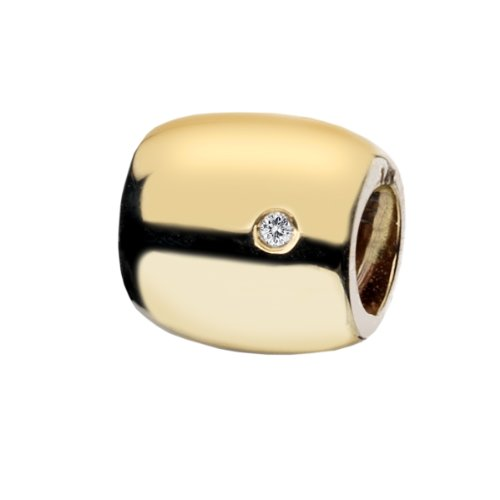 Hot Diamonds - DB013 - Drop Femme - Or jaune 750/1000 (18 cts) - Diamant 0.01 cts