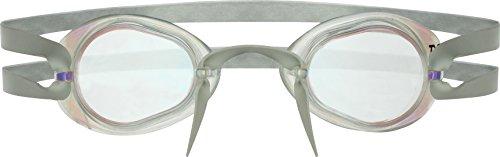 (TYR Socket Rockets 2.0 Racing Metallized Goggle (Metallic Red/Silver))