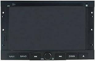 Jasco 7 pulgadas 2 Din coche reproductor de DVD estéreo para ...
