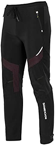 ROCKBROS Winter Cycling Pants Warm Ergonomics Men's Windproof Thermal P