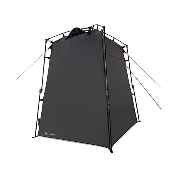 313lUWNwcOS Qeedo Quick Shower Cabin Camping Duschzelt und Umkleidezelt (Blickdicht) 2m Höhe