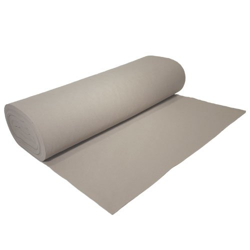 Acrylic Felt by the Yard 72'' Wide X 2 YD Long: Lighy Gray by The Felt Store
