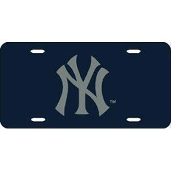 Rico Industries - New York Yankees Laser Cut Blue License ()