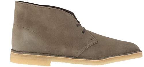 CLARKS Men's Desert Boot 261382 Chukka, Olive Suede, 070 M US