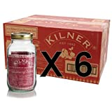 Set of 6 Kilner 1L Screw Top Preserve Preserving Jam Pickle Glass Storage Jar