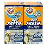 Arm & Hammer Pet Fresh Carpet Odor Eliminator Plus Oxi Clean Dirt Fighters, 18 oz,(PACK OF 2)
