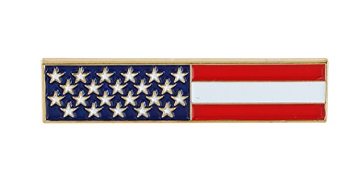 USA - American Flag Bar (Value Pack) (1 pack) - American Flag Pin Bar