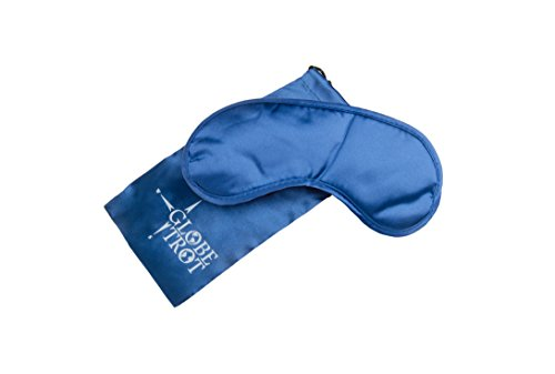 Eye-mask-with-gel-for-hotcold-treatment-Great-for-relaxationinsomnia-or-headache-Blocking-out-any-unwanted-light-BONUS-carrying-case-and-ear-plugs-Blue
