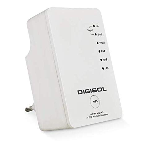 Digisol DG WR4801AC AC750 Dual Band Wireless Repeater  White  Network Hubs