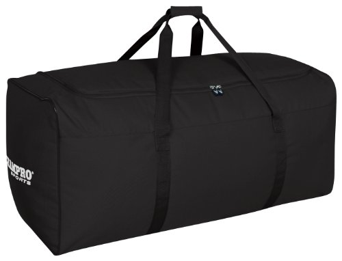 Baseball Helmet Bags - Champro Oversize Equipment Bag (Black, 36 x 16 x 16-Inch)