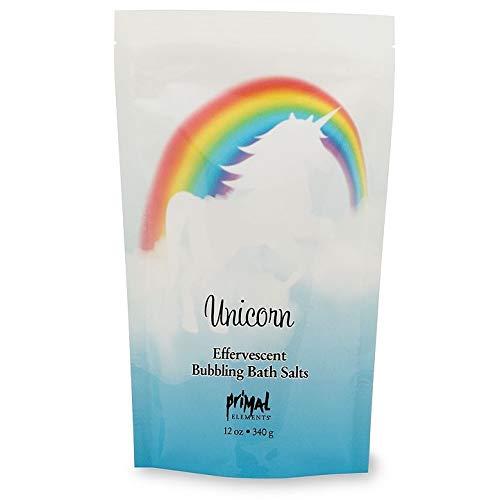 (Primal Elements Effervescent Bubbling Bath Salts 12oz. Unicorn)