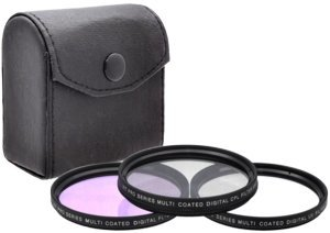 58MM Professional Lens Filter Accessory Kit  for canon rebel