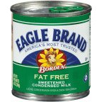 Eagle Brand Fat Free Sweetened Condensed Milk, 14 Ounce