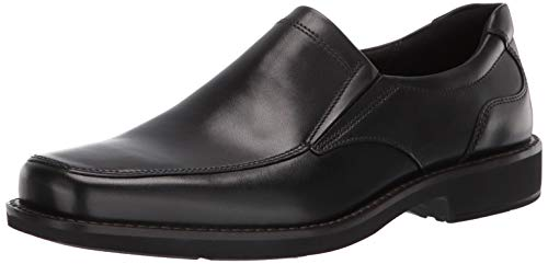 ECCO Men's Seattle Slip On Loafer, Black, 44 Medium EU (10-10.5 US) (Dress Shoes Ecco Men)