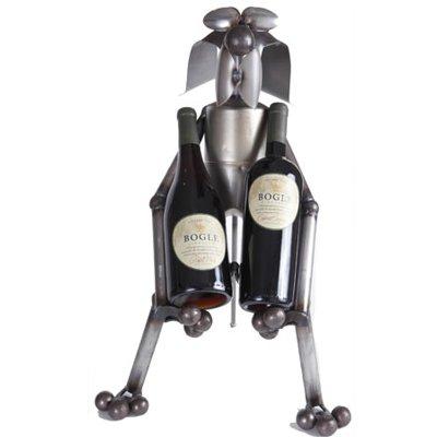 Wine Holders Yardbirds - Wine Waiter Dog - Wine Holder Yardbirds by Richard Kolb