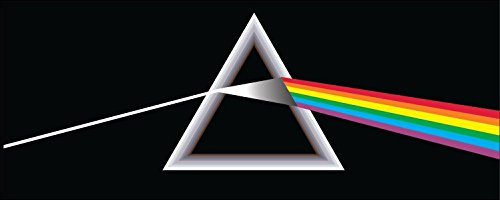 Pink Bumper Floyd Stickers - Pink Floyd Sticker Decal2 Sizes Vinyl Bumper Wall Rock Rainbow Pink Floyd Stickers Pack Edwin Group of Companies - Buy (2