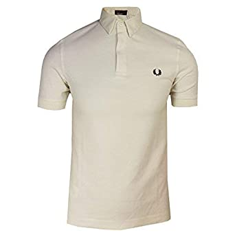 Fred Perry Hombre M4500 Manga Corta Camisa Polo - Blanco - X-Small ...