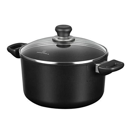 - Scanpan Induction Plus Non-Stick Dutch Oven, 6.5 quart, Black