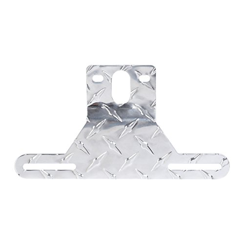 CZC AUTO Aluminum Trailer License Plate Light Bracket