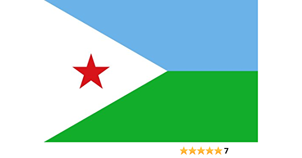 Amazon Com Djibouti National Country Flag 3 Foot By 5 Foot Polyester New By Fifi Garden Outdoor