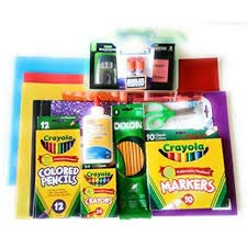 Elementary School Bundle Note Books,Folders,Crayola Crayons and More -