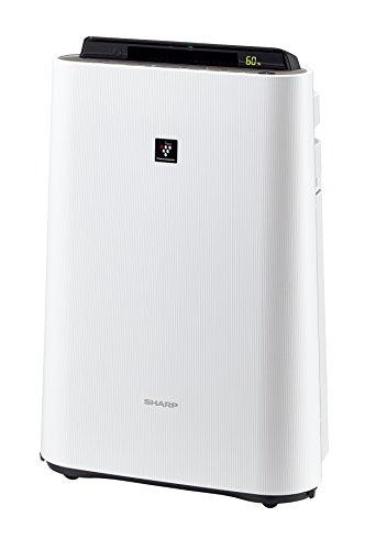 シャープ加湿空気清浄機プラズマクラスター搭載ホワイトKC-E70-W