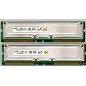512MB (2x256MB) PC800 45ns RAMBUS RDRAM Rimm Memory RAM Upgrade for Dell Dimension 8100