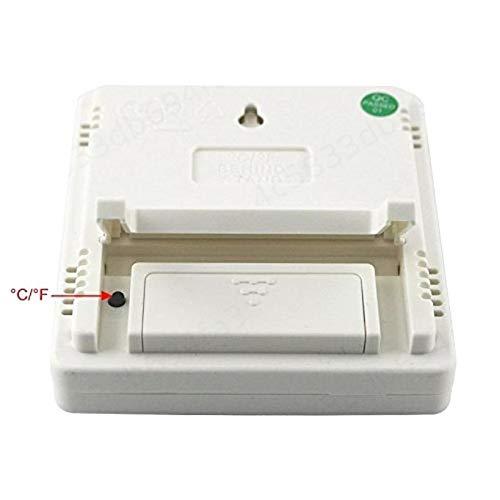 ALONGB LCD Num/érique /Électronique Temp/érature Humidit/é Compteur Int/érieur Ext/érieur Ext/érieur Thermom/ètre Hygrom/ètre Station M/ét/éo R/éveil