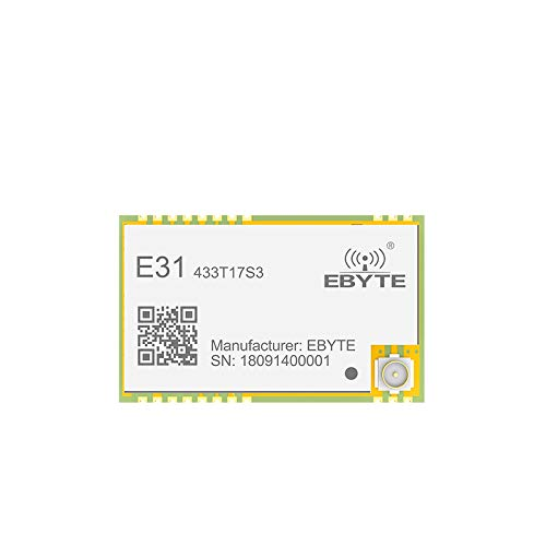 WillBest AX5243 433MHz TCXO ebyte E31-433T17S3 IoT UART Wireless Transceiver IPEX Stamp Hole Connector WOR Transmitter and Receiver