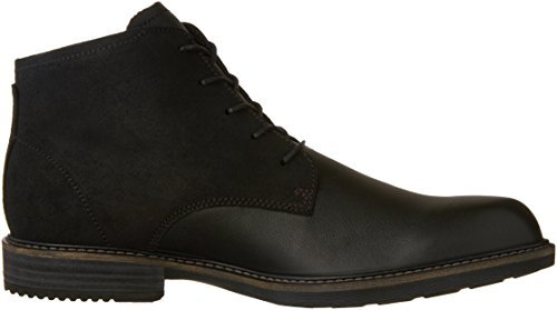 Herren Ecco Kenton black Stiefel 51052black Kurzschaft Schwarz Aw1dq