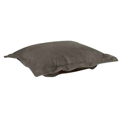 Howard Elliott C310-225 Puff Ottoman Cover, Bella Pewter