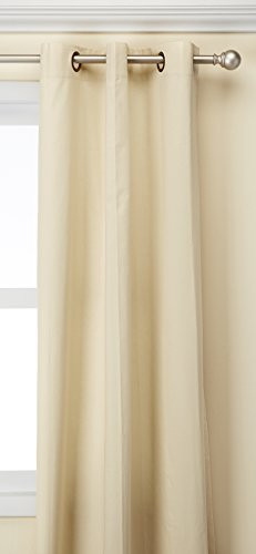 Pair Thermal Insulated Cotton Curtains - Thermalogic Weathermate Insulated Grommets Cotton Curtain Panels, 80 x 95