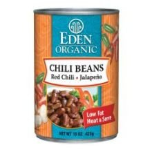 Eden Bread (Eden Foods Organic Chili Bean with Jalapeno and Red Pepper, 15 Ounce -- 12 per case.)