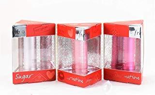 Fresh Destination Sugar Mini Lip Treatment Trio - Rose, Petal and Tulip