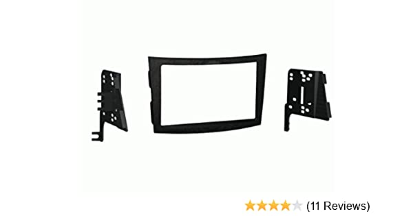 Metra 95-8903S Double DIN Installation Dash Kit for 2010 Subaru Legacy and Outback Silver