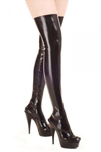 ultimo design più colori calzature Donna Lattice Calze 69 cm con 60 cm Zip: Amazon.it: Salute e cura ...